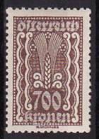26-699 // 1924  FREIMARKEN Mi 398 ** - 1918-1945 1. Republik