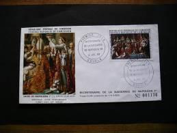 FDC PA BICENTENAIRE DE LA NAISSANCE DE NAPOLEON 1 / CACHET 4  7  69 DOUALA - Cameroon (1960-...)