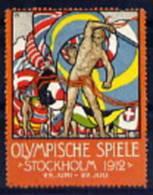 Vignette Allemagne Stockolm 1912 *