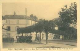 CHANTILLY - Oise 60 -  Rue Du Connétable,  Tabac De La Porte St-Denis - Chantilly