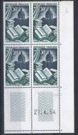 30 Fr Reliure   27.4.54  Y&T ** - 1950-1959