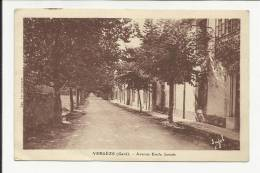 VERGEZE ( GARD - 30) - CPA - AVENUE EMILE JAMAIS - Vergèze