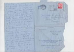 Aérogramme - Hong Kong - Février 1946 - REPULSE BAY HOTEL - Air Letter - Air Mail - 1997-... Région Administrative Chinoise
