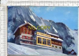 LES HOUCHES - Le Mont Lachat Et Ses Motels - Vue Générale L´Hiver - Les Houches