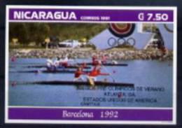 Nicaragua BF ND/imperf/B JO 96 ** - Summer 1996: Atlanta