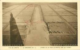 62 - N.D. DE LORETTE - Le Cimetière (Côté Sud) - L'Ombre De La Tour Se Profile Sur Les Tombes (Braun & Cie) - France