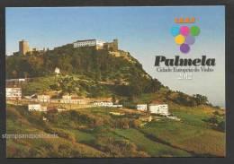 Portugal Entier Postal Palmela Capitale Européenne Du Vin Château 2012 Palmela Europe Wine Capital Castle Stationery - Schlösser U. Burgen
