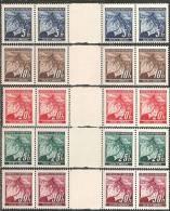 Boemia E Moravia 1939 Nuovo** - Yv.20/4  N°5 Strisce  2 Coppie+interspazio - Boemia E Moravia