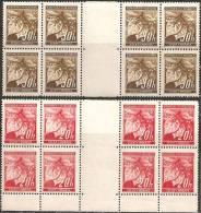 Boemia E Moravia 1939 Nuovo** - Yv.22+41  Blocs 8x + Interspazio - Boemia E Moravia