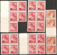 Boemia E Moravia 1939 Nuovo** - Yv.22 N°18x + Yv.42 N° Coppie + Interspazio - Boemia E Moravia