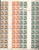"""Boemia E Moravia 1939 Nuovo** - Yv.41+42+43  Striscia Verticale 40x + Interspazio  (50h E Verso: Vedi A """"Descrizione"""") - Boemia E Moravia"""
