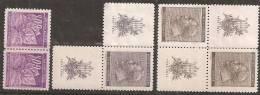 Boemia E Moravia 1940 Nuovo** - Yv.44  Coppia + 63 Con Appendice + 64 2x Con Appendìci - Boemia E Moravia