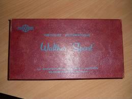 Boite Vide D Origine En Carton Pour WALTHER MANURHIN PP Sport Cal 22lr Avec Sa Notice - Armes Neutralisées