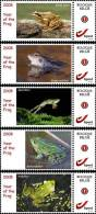 Mystamp MNH 2008 Year Of The Frog 5x - Sellos Privados