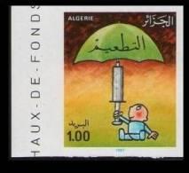 Algeria N° 895 Vaccine Campaign For Childhood Immunization - Medicine