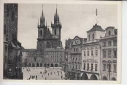 BÖHMEN & MÄHREN; Prag - Praha, Teinkirche - Sudeten