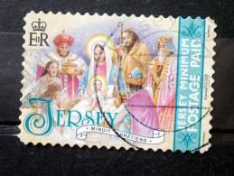 Jersey - 2007 - Mi.nr.1317 I - Used - Christmas - Adoration Of The Magi - Self-adhesive - Jersey