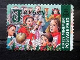 Jersey - 2003 - Mi.nr.1004 III - Used - Christmas - Advent Singer - Self-adhesive - Jersey