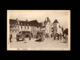 22 - TREGUIER - Les Quais - Le Marché Aux Pommes De Terre Nouvelles - 9181 - Tréguier