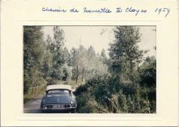 Cloyes - Chemin De Meurville - Citroën DS Immatriculée Dans L´Aube - Unclassified