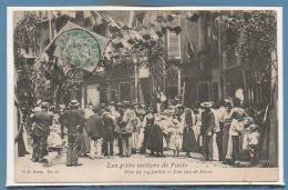 75 - PARIS - Les P´tits Métier De Paris V. P. --  Fête Du 14 Juillet - Une Rue De Paris - Petits Métiers à Paris