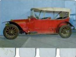 Plaque Metal Publicite COOP, L´auto A Travers Les Ages N°43 Lorraine 1910 - Brands