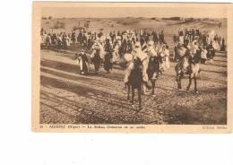 Niger - Agadez - LE SULTAN OUMARAN Et Sa Suite - Niger