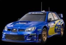 Subaru Impreza WRC - Peter Solberg/Ph. Mills - Rally Japan 2006 #5 - HPI-Racing - HPI-Racing