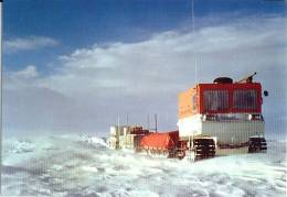 Convoi  L´Inlandsis   Cp éditée  à L´occasion Du 50 E Anniversaire Des Expéditions Polaires Française - TAAF : Terres Australes Antarctiques Françaises