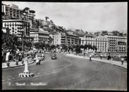 1959 NAPOLI MERGELLINA FG V 2 SCAN ANIMATA AUTOMOBILI  LAMBRETTA VESPA - Napoli