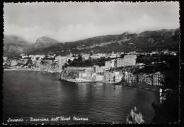 1950 SORRENTO PANORAMA DALL'HOTEL MINERVA FG V 2 SCAN - Napoli