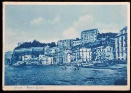 1950 SORRENTO MARINA GRANDE FG V 2 SCAN - Napoli
