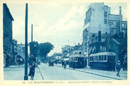 LA MALTOURNEE - Boulevard Galliéni - Station Tramway - Neuilly Plaisance