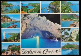 1985 SALUTI DA CAPRI VEDUTINE FG V 2 SCAN - Napoli