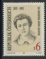 Oostenrijk Austria Österreich 1995 Mi 2164 ** Käthe Leichter (1895-1942) Resistance Fighter / Widerstandskämpferin - Beroemde Vrouwen