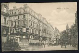 Austria Wien Graben Old Postcard 1909 - Unclassified