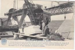 Carrières Du Hainaut à Soignies - Chantier De Pierres De Taille - Animée - Carte D'un Carnet - La Belgique Industrielle - Soignies