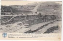 Carrières Du Hainaut à Soignies - Vue Des Terrassements - Carte D'un Carnet - La Belgique Industrielle - Soignies