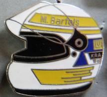 PIN´S CASQUE F1 FORMULA ONE USA PILOTE M. BARTELS EGF MFS - F1