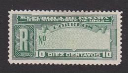 Panama, Scott #F27, Mint Hinged, Regiesterd Mail Stamp, Issued 1904 - Panama