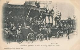 RUSSIE - S.M. L´EMPEREUR NICOLAS II En FRANCE - FETES FRANCO-RUSSES - Revue De BETHENY 1901 - Départ Des Invités - Russie