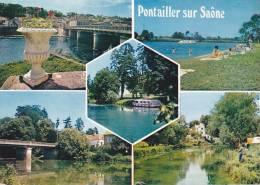 20763 Multivues Pontailler Sur Saone.  21270-3cp835662 Vim. - France