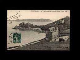 22 - TRESTIGNEL - La Plage, L'Hôtel, La Pointe Du Château Et L'Ile Tomé - 71 - Commune De Perros-Guirec - Perros-Guirec