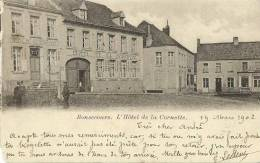 Peruwelz-Bon-Secours(Belgio)-Hotel De La Cornette-1902 - Perwez