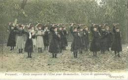 Peruwelz-Bon-Secours(Belgio)-Ecole-1906 - Perwez