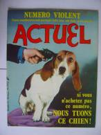 ACTUEL 1ère Formule N° 54- 05/75 - Informations Générales