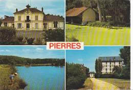 20776 Pierres, La Mairie, Les Etangs, Vieux Lavoir , Ancien Moulin . -la Cigogne