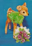 20777 Bambi Faon Biche Rose .  - Sans éditeur - Jouet Peluche - Animaux & Faune