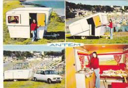 20778 Caravane Pliable ANTEM DOUDEVILLE  (76 -france) - Renault Voiture R5 - Cartes Postales