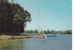 20779 Bourges (cher France) Plan D'eau -La Cigogne - Planche à Voile - Voile